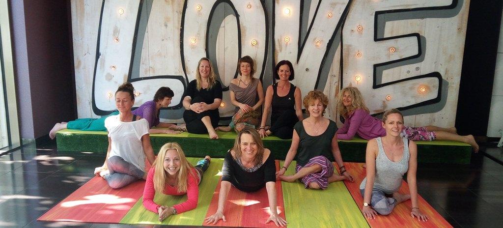 Mindfulness Yin Yoga graduates