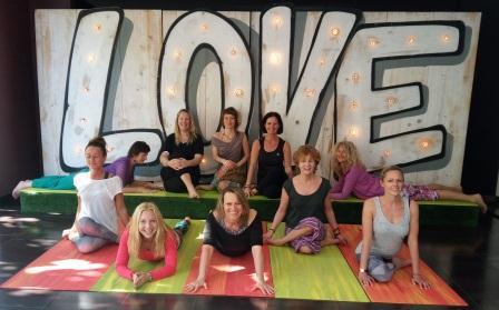 Graduates of the Mindfulness Yin Yoga Course