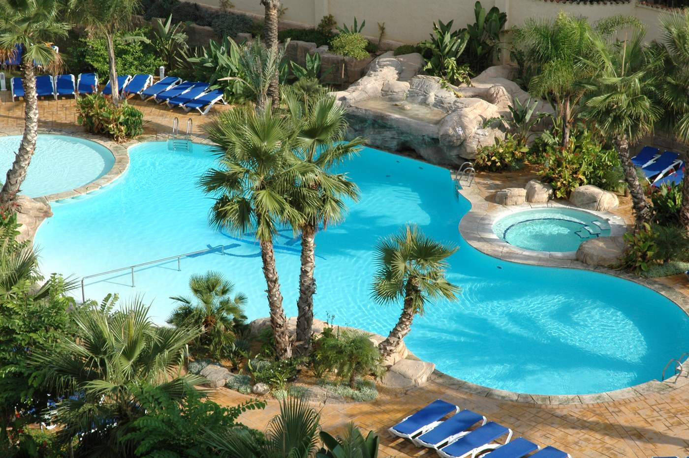 The 4 star Albir Playa swimming pool