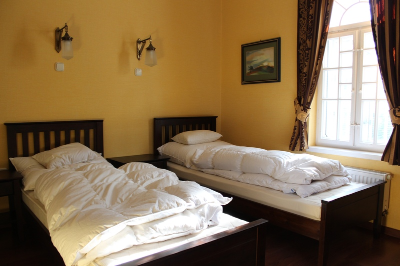 comfortable twin bedrooms
